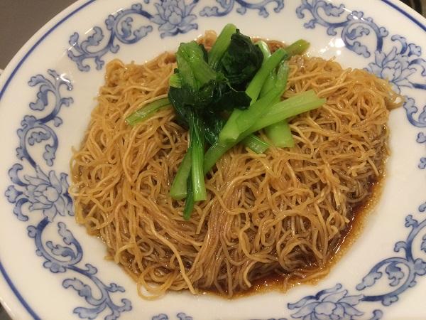 威南記(イーナムキー)の麺