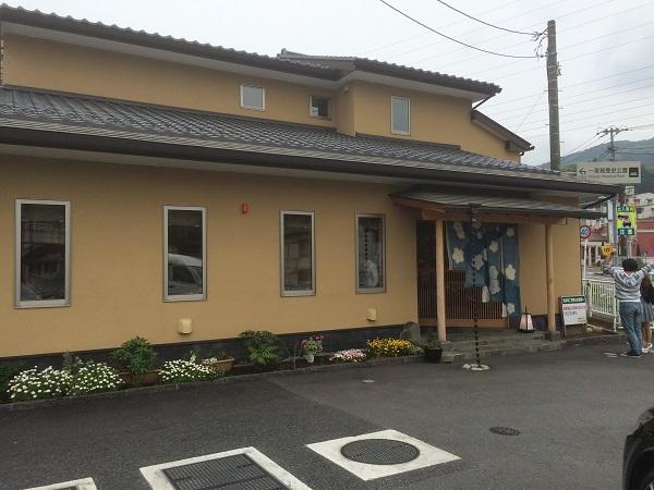 うなぎ亭 友栄の入口の写真