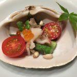 鯛めし銀平 銀座店 ほっき貝のサラダ