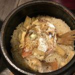 紅葉鯛の炊き込みご飯