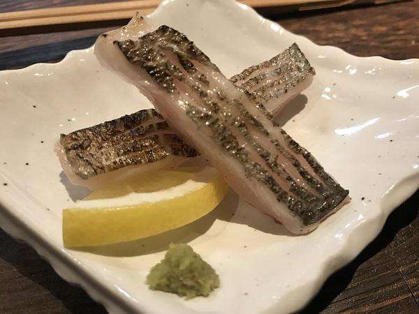 太刀魚の炙り