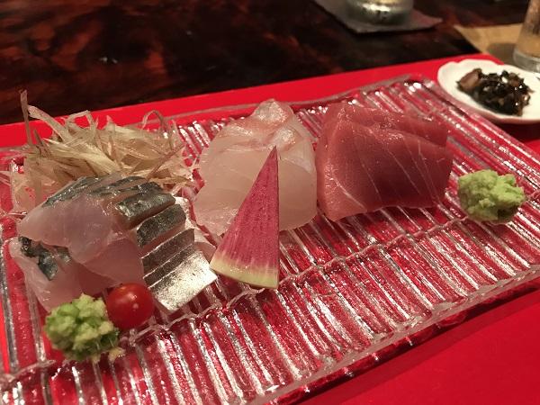 関アジ 真鯛 本マグロ