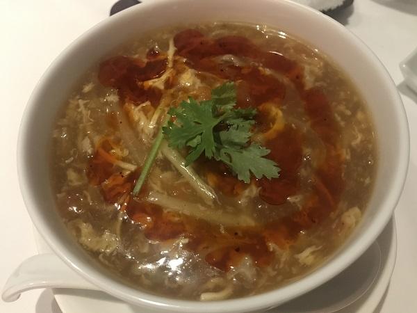自家製ラー油香る酸辣湯麺(サンラータンメン)