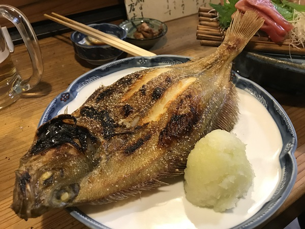 焼き魚カレイ