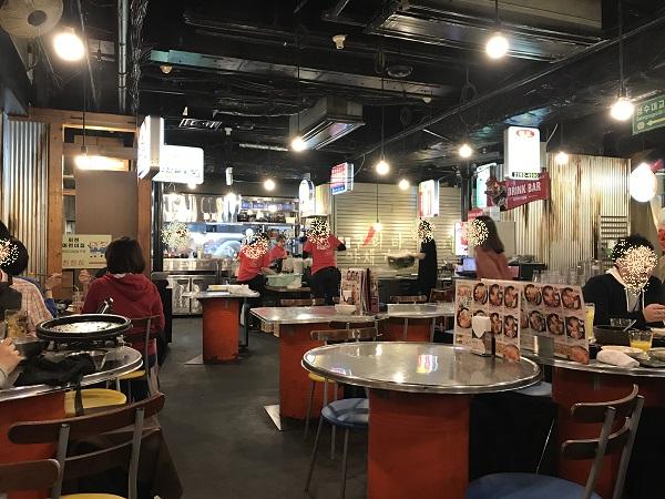 韓豚屋(ハンテジヤ)店内の様子
