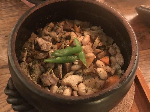 八十八夜の八品目ご飯~緑茶炊き込み~