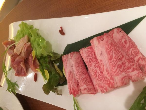 火鍋のお肉