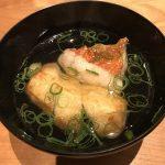 金目鯛と里芋のお椀