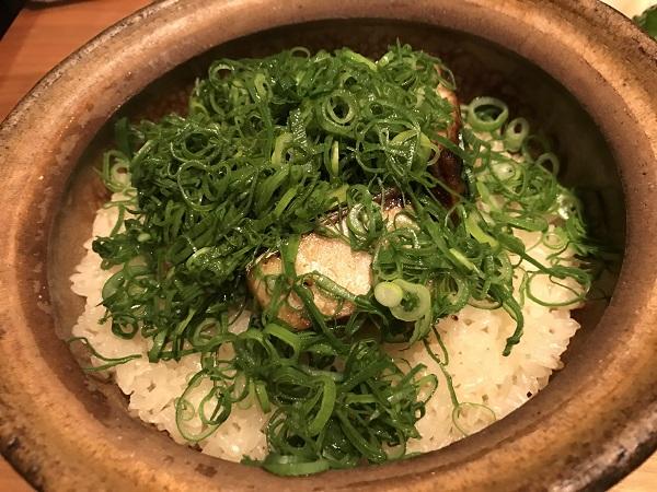 鰤の土鍋飯