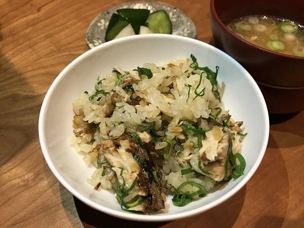 鰤の土鍋飯2