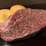 厚切り上赤身肉ヒレ肉