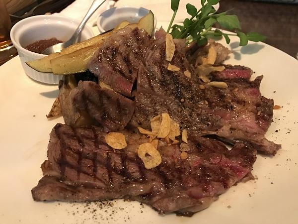 A4和牛のサーロインステーキ