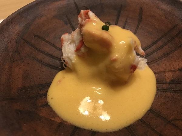 松葉ガニの卵酢