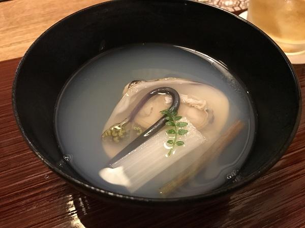 蛤のお吸い物