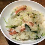 ズワイガニの土鍋飯2