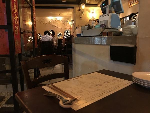 海南鶏飯食堂2店内の様子