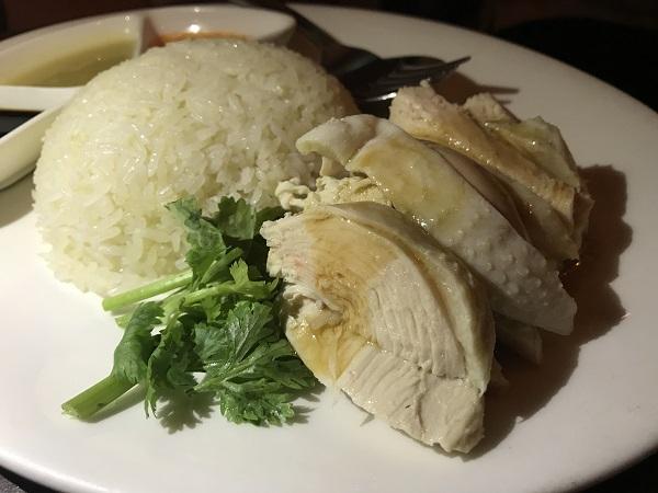 海南鶏飯(中)