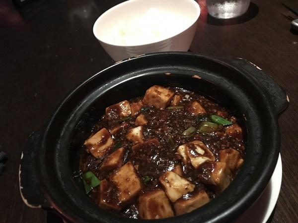 マーラー豆腐とライス