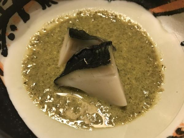 黒アワビ肝ソース