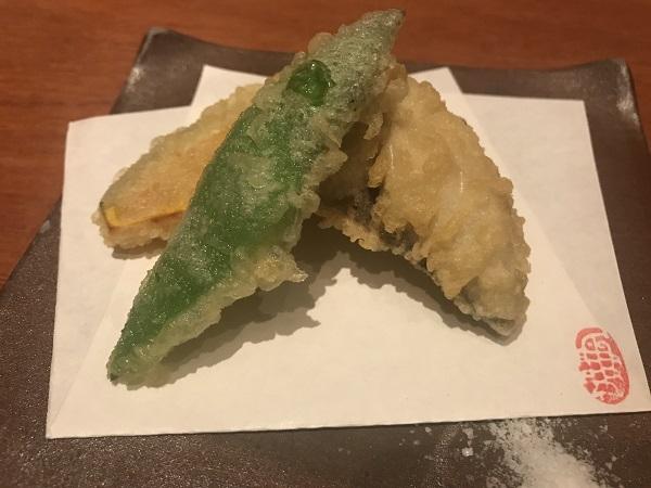 天ぷら3種