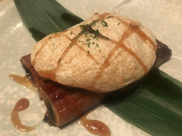 鰻の養老焼