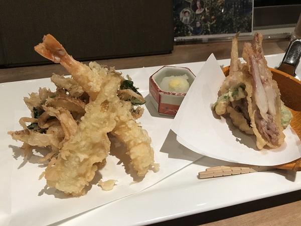 天ぷら5種盛り