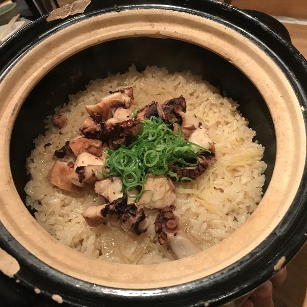 土鍋タコ飯