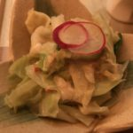 菜な「ズワイ蟹とキャベツの胡麻酢」