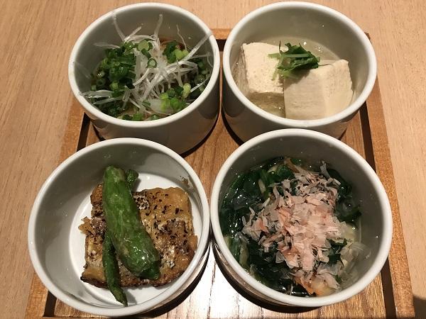 前菜4種盛り
